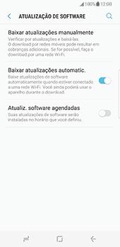 Como atualizar o software do seu aparelho - Samsung Galaxy S8 - Passo 5
