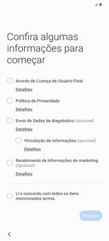 Como ativar seu aparelho - Samsung Galaxy S20 Plus 5G - Passo 4