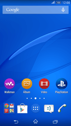 Como configurar seu celular para receber e enviar e-mails - Sony Xperia E4G - Passo 1