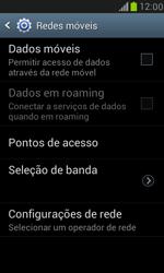 Como ativar e desativar uma rede de dados - Samsung Galaxy S III Mini - Passo 6