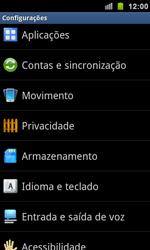 Como restaurar as configurações originais do seu aparelho - Samsung Galaxy S II - Passo 4