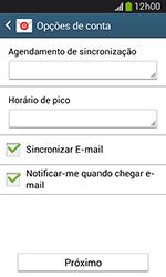 Como configurar seu celular para receber e enviar e-mails - Samsung Galaxy Grand Neo - Passo 19