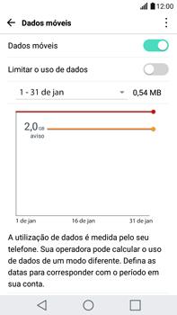 Como ativar e desativar uma rede de dados - LG G5 Stylus - Passo 3