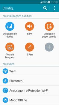 Como configurar uma rede Wi-Fi - Samsung Galaxy Note - Passo 3