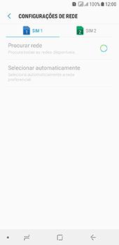 Como selecionar o tipo de rede adequada - Samsung Galaxy J6 - Passo 9