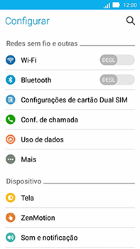 Como usar seu aparelho como um roteador de rede Wi-Fi - Asus ZenFone Go - Passo 3