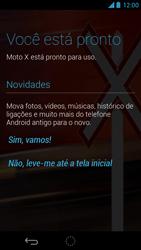 Como ativar seu aparelho - Motorola Moto X (1ª Geração) - Passo 8