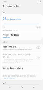 Como ativar e desativar uma rede de dados - Samsung Galaxy A10 - Passo 6