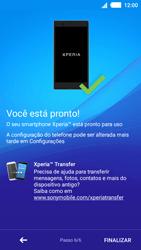 Como ativar seu aparelho - Sony Xperia M4 Aqua - Passo 10