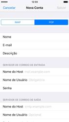 Como configurar seu celular para receber e enviar e-mails - Apple iPhone 6 - Passo 11
