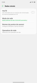 O celular não recebe chamadas - LG K62 - Passo 7