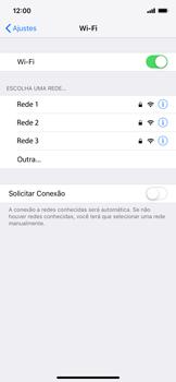 Como configurar uma rede Wi-Fi - Apple iPhone XR - Passo 4