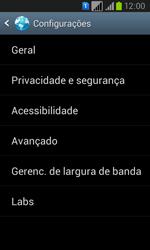 Como configurar a internet do seu aparelho (APN) - Samsung Galaxy Win - Passo 21