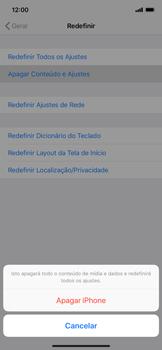 Como restaurar as configurações originais do seu aparelho - Apple iPhone XR - Passo 6