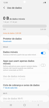 Como conectar à internet - Samsung Galaxy Note 20 5G - Passo 7