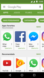 Como baixar aplicativos - Motorola Moto G5 - Passo 7