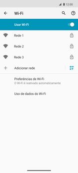 Como configurar uma rede Wi-Fi - Motorola Edge - Passo 6