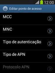 Como configurar a internet do seu aparelho (APN) - Samsung Galaxy Pocket - Passo 11