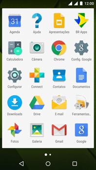Como usar seu aparelho como um roteador de rede Wi-Fi - Motorola Moto X Play - Passo 2