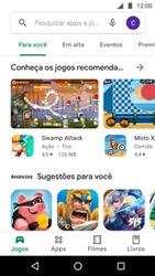 Como baixar aplicativos - Motorola Moto G5 Plus - Passo 4