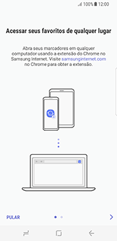 Como configurar a internet do seu aparelho (APN) - Samsung Galaxy S8 - Passo 21