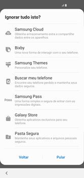 Como configurar pela primeira vez - Samsung Galaxy S10 - Passo 19