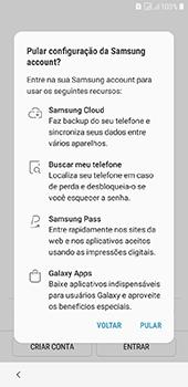 Como configurar pela primeira vez - Samsung Galaxy J6 - Passo 18