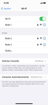 Como configurar uma rede Wi-Fi - Apple iPhone 11 Pro - Passo 6