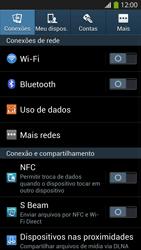 Como configurar uma rede Wi-Fi - Samsung Galaxy S IV - Passo 3