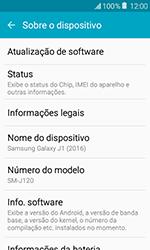Como atualizar o software do seu aparelho - Samsung Galaxy J1 - Passo 5