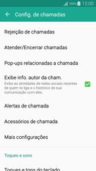 Como bloquear chamadas de um número específico - Samsung Galaxy A5 - Passo 7