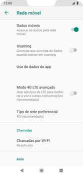 Como conectar à internet - Motorola Moto G7 Power - Passo 11