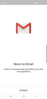 Como configurar seu celular para receber e enviar e-mails - Samsung Galaxy S10 - Passo 5
