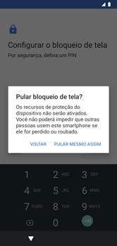 Como configurar pela primeira vez - Motorola Moto G7 Power - Passo 10