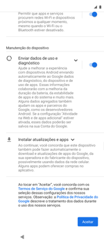 Como ativar seu aparelho - Motorola Moto G 5G Plus - Passo 7