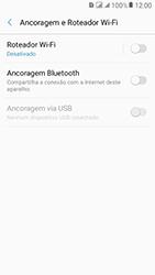 Como usar seu aparelho como um roteador de rede Wi-Fi - Samsung Galaxy J2 Prime - Passo 5