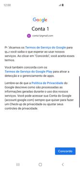 Como configurar seu celular para receber e enviar e-mails - Samsung Galaxy S10 - Passo 11