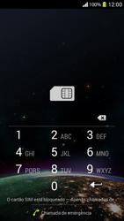 Como ativar seu aparelho - Sony Xperia SP - Passo 2