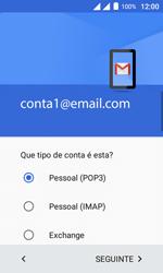 Como configurar seu celular para receber e enviar e-mails - Alcatel Pixi 4 - Passo 11