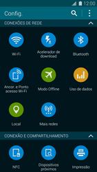 Como ativar e desativar o modo avião no seu aparelho - Samsung Galaxy S5 - Passo 3