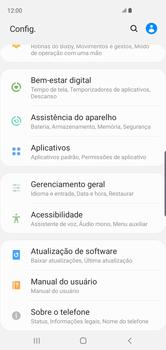 Como atualizar o software do seu aparelho - Samsung Galaxy S10 - Passo 4