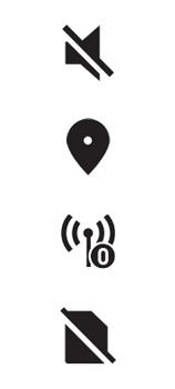 Explicação dos ícones - LG K62 - Passo 11