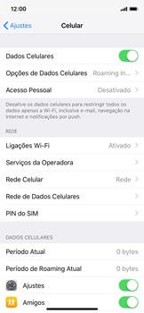 Como configurar a internet do seu aparelho (APN) - Apple iPhone X - Passo 3