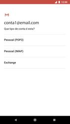 Como configurar seu celular para receber e enviar e-mails - Google Pixel 2 - Passo 10