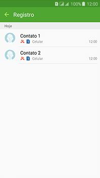 Como bloquear chamadas de um número específico - Samsung Galaxy J7 - Passo 9