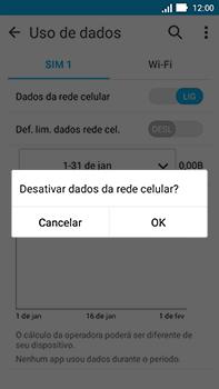 Como ativar e desativar uma rede de dados - Asus ZenFone Go - Passo 5