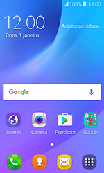 Como configurar seu celular para receber e enviar e-mails - Samsung Galaxy J1 - Passo 1