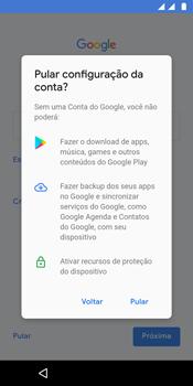 Como configurar pela primeira vez - Motorola Moto G6 Plus - Passo 12