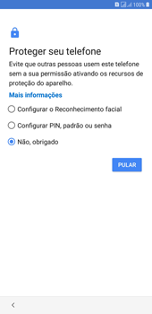 Como configurar pela primeira vez - Samsung Galaxy J4+ - Passo 13
