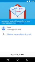 Como configurar seu celular para receber e enviar e-mails - Motorola Moto X4 - Passo 12